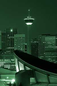 Calgary Tower on Christmas day, 2006