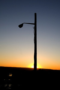 This lightpole ended up being in many of the evening's shots.