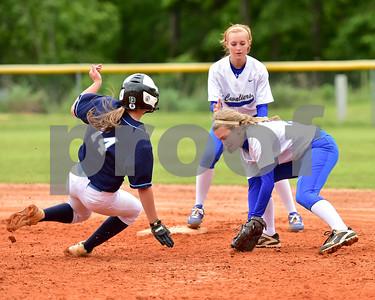 Calhoun Academy Girls Softball vs R.E.L