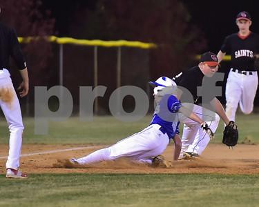 Calhoun County vs Edisto Baseball 2016