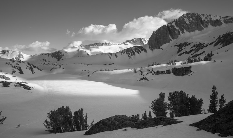 Late Afternoon Shadows Across Twenty Lakes Basin