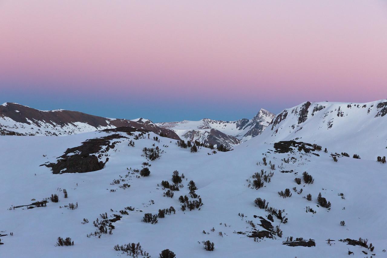 20 Lakes Alpenglow