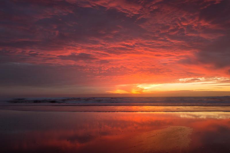 Vibrant Morro Strands Sunset
