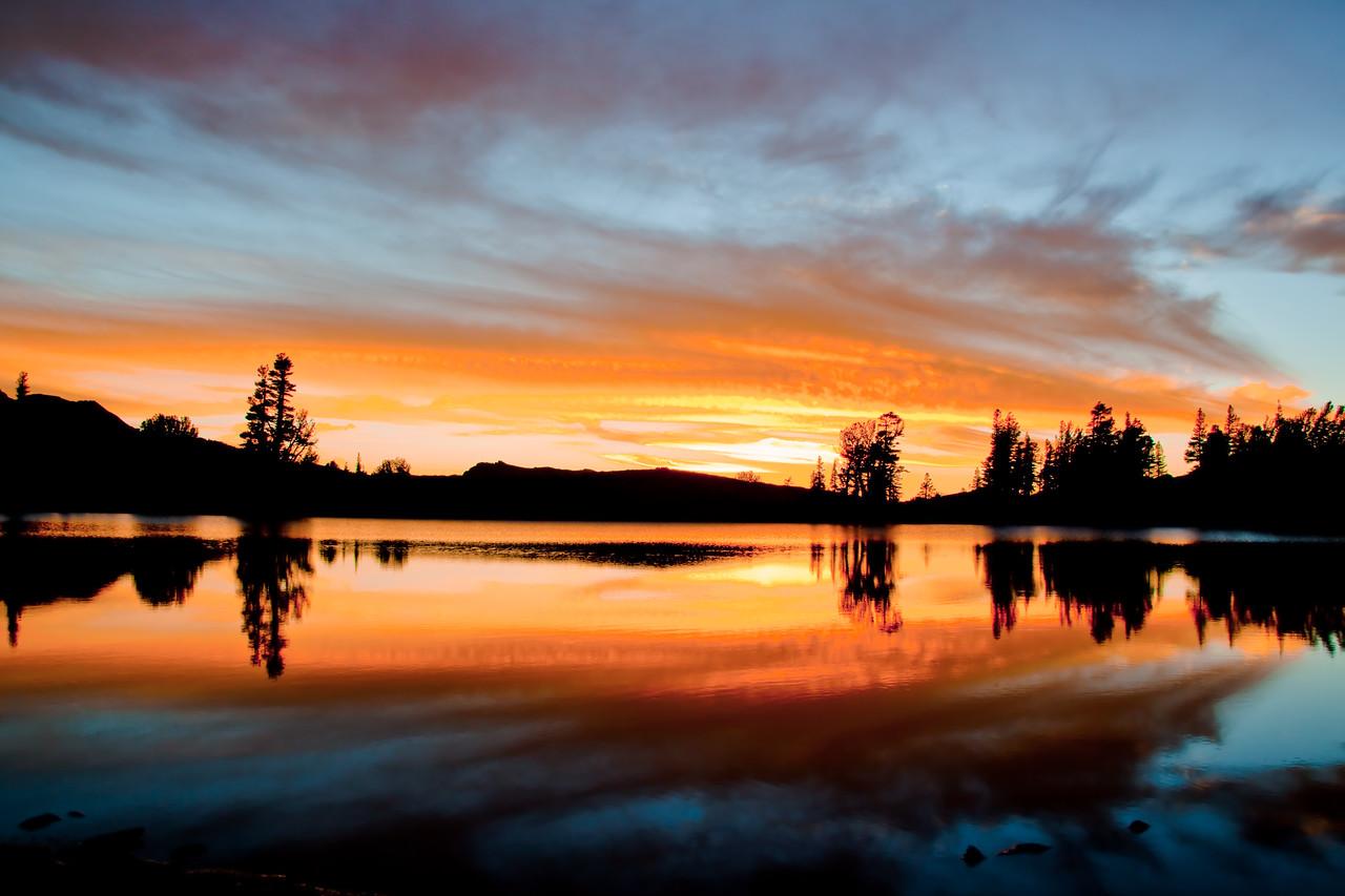 Frog Lake Reflections