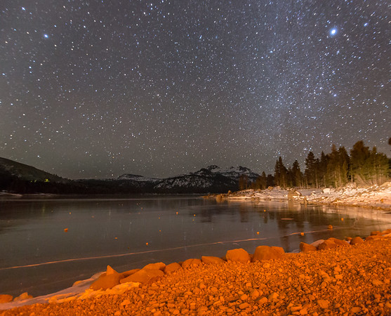 Caples Lake Nightscape