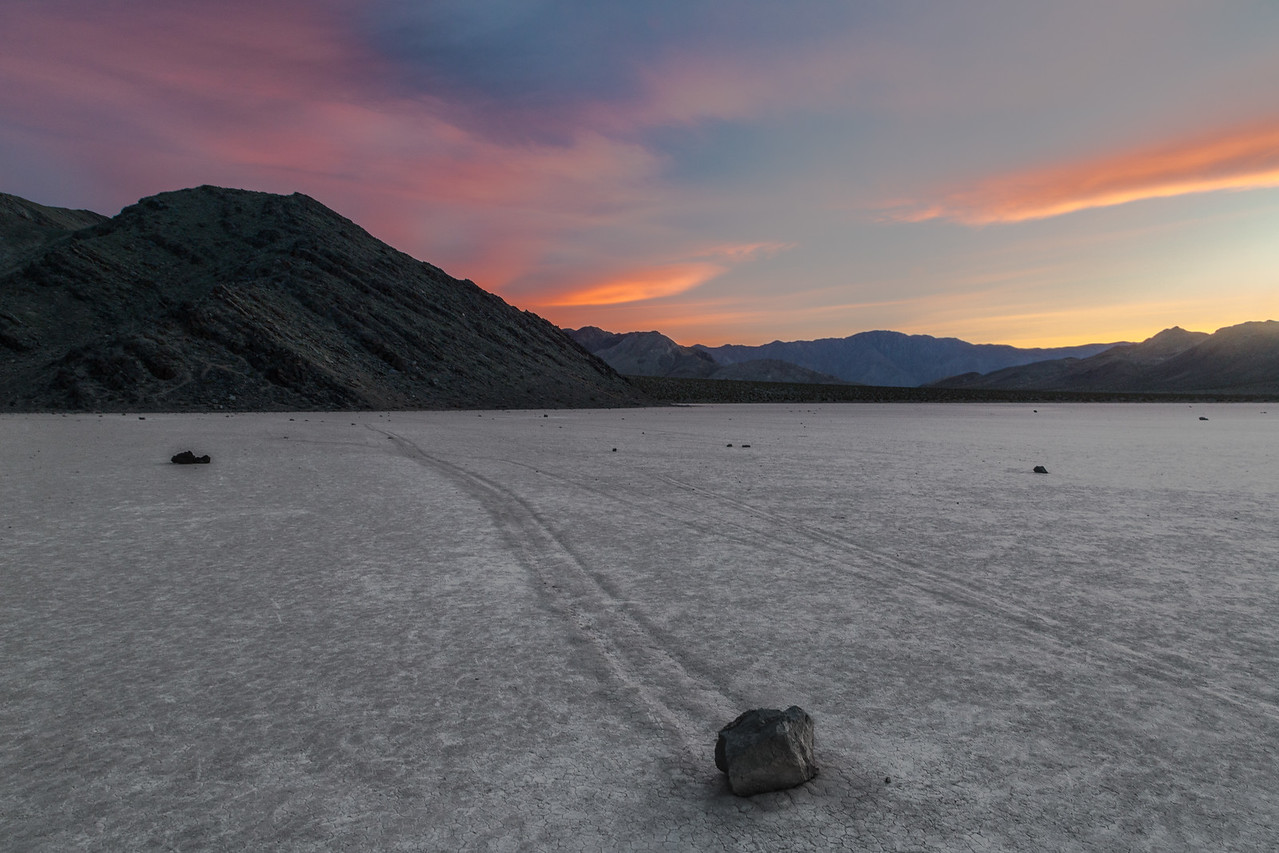 Sunset over Sailing Stones