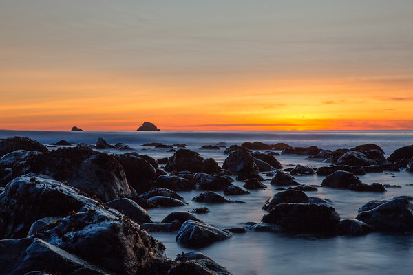 Tide Pool to Sea Stack Sunset