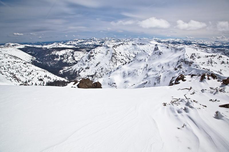 Snow Covered Mokeulumne Wilderness
