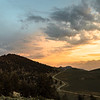Sunset over the Ancient Bristlecone Pine Forest
