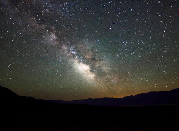 Milky Way Over the Saline Valley
