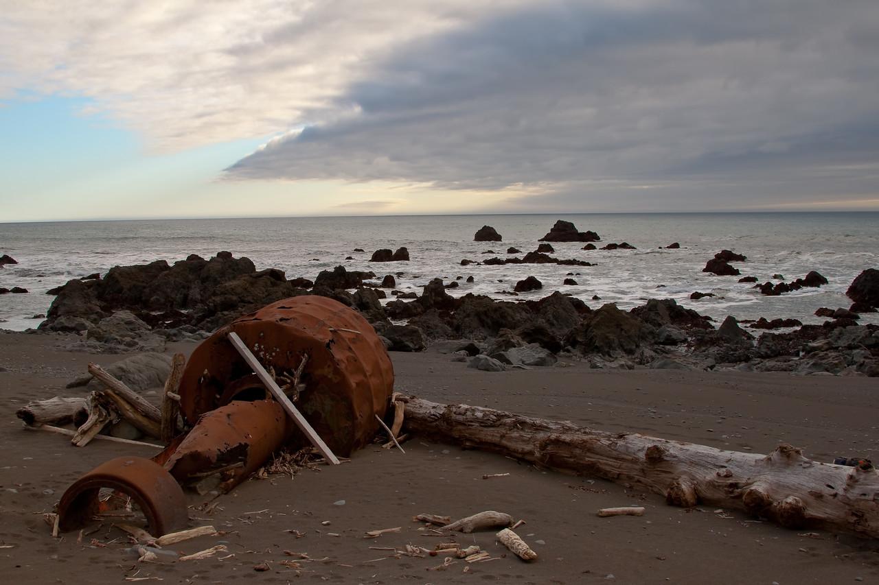 Lost Coast Wreckage