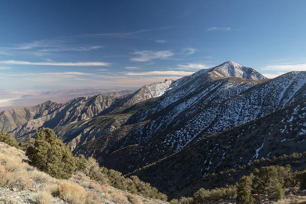 Telescope Peak in the Distance