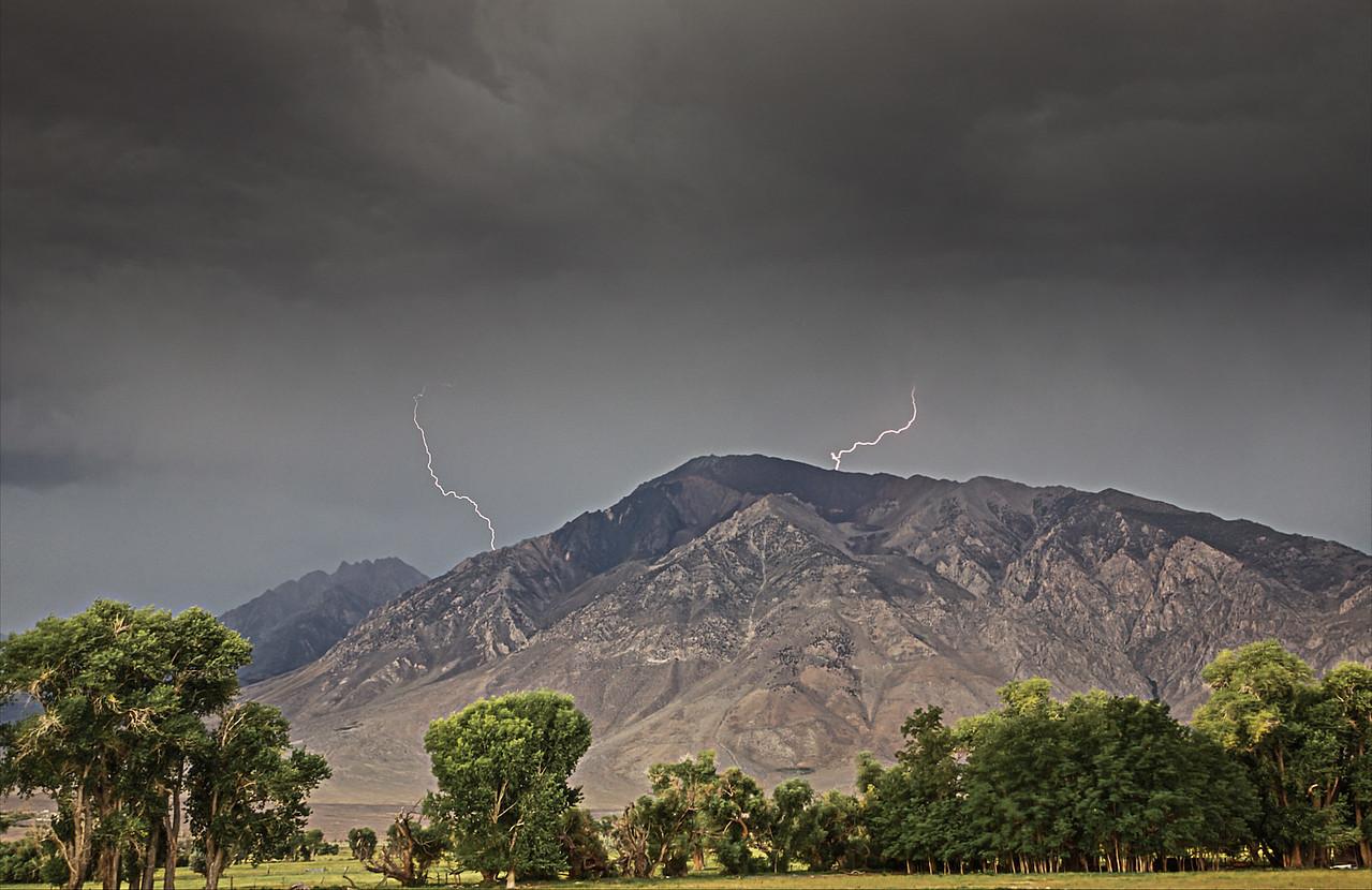 Cloud to Ridgeline Strikes