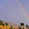 Morning rainbow, Palm Springs