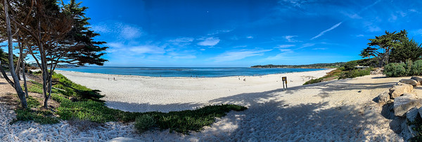 Carmel Beach pano
