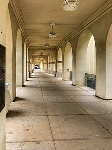 Colonnade at San Diego Museum of Art