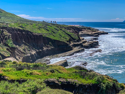 Point Loma cliffs