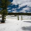Ice on Crumbaugh Lake