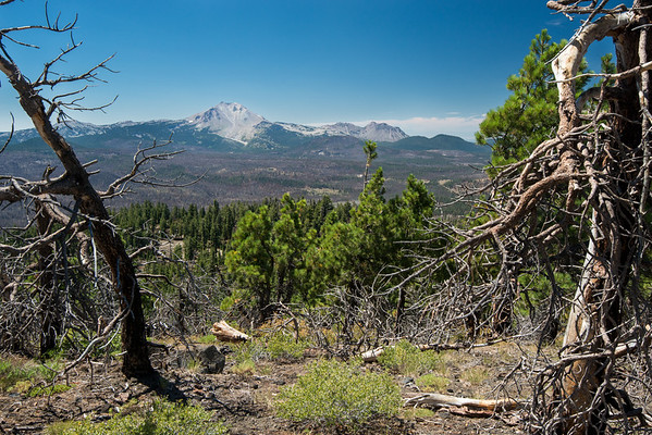 Cascade Mountains; Lassen Volcanic National Park; california; national park; prospect peak Most summits in Lassen Volcanic NP show a different face of Lassen Peak. We enjoyed seeing its NE face.