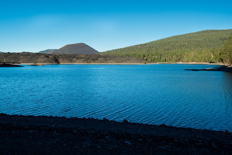 Cinder Cone on the Lake