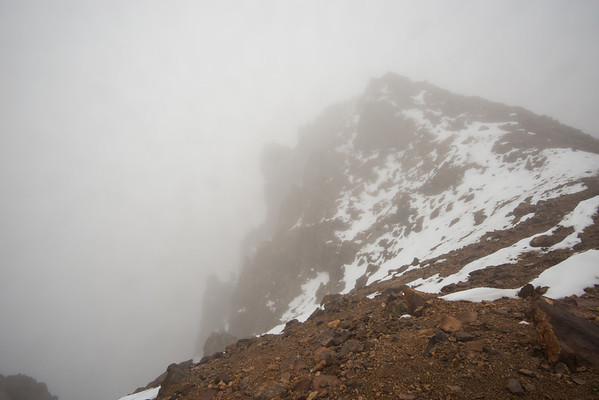Brokeoff; Cascade Mountains; Lassen Volcanic National Park; california; national park Déjà vu! The summit of Brokeoff Mountain was also shrouded in fog.