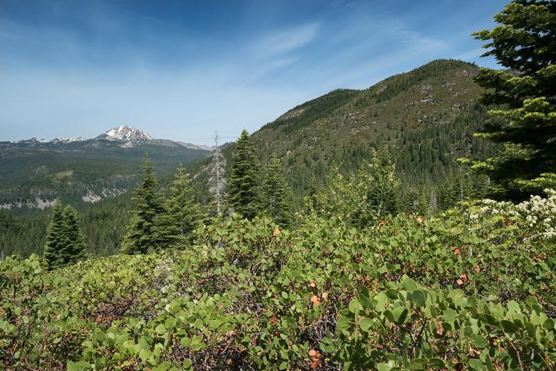 Lassen Peak From Mt. Harkness Trail