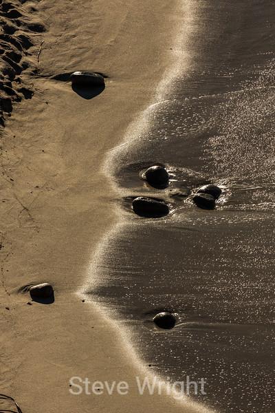Beach Rocks - Point Lobos #0858