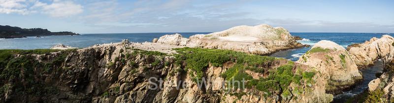 Bird Island - Point Lobos #3352-Pano