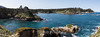 Big Dome Point, Coal Chute Point, Whaler's Cove  & Granite Point - Point Lobos #7053-Pano