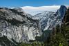 North Dome and Half Dome - Yosemite #1498