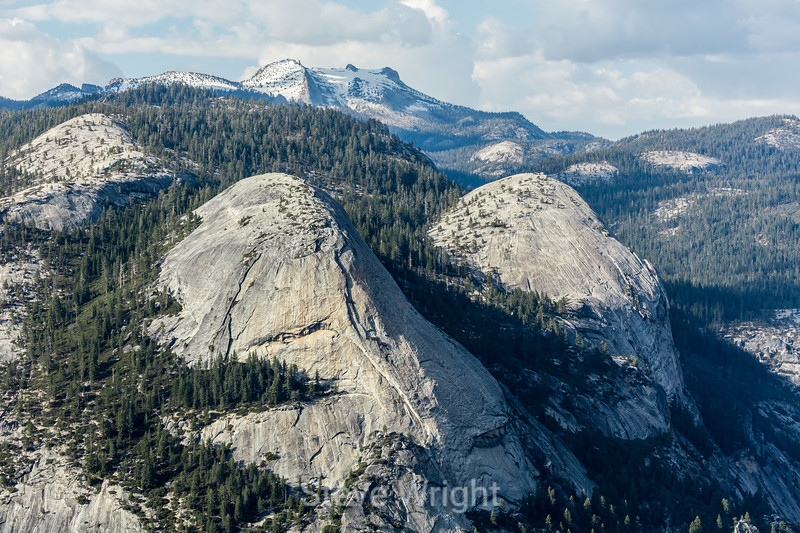North Dome and Basket Dome - Yosemite #0145