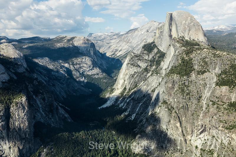 Basket Dome and Half Dome - Yosemite #0170