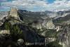 Half Dome, Vernal Falls, Nevada Falls, Liberty Cap - Yosemite #0102