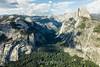 North Dome, Basket Dome, Royal Arches, Half Dome - Yosemite #0182