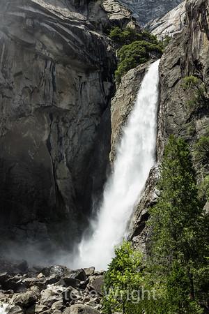 Lower Yosemite Falls - 2013