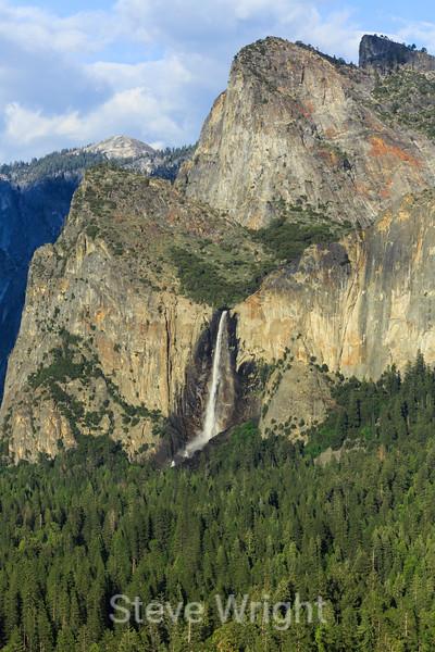 Bridal Veil Falls - Yosemite #0211