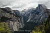 North Dome, Basket Dome, Royal Arches, Half Dome - Yosemite #8667