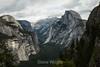 North Dome, Basket Dome, Royal Arches, Half Dome - Yosemite #8673