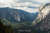 El Capitan and Cathedral Rocks - Yosemite #8691