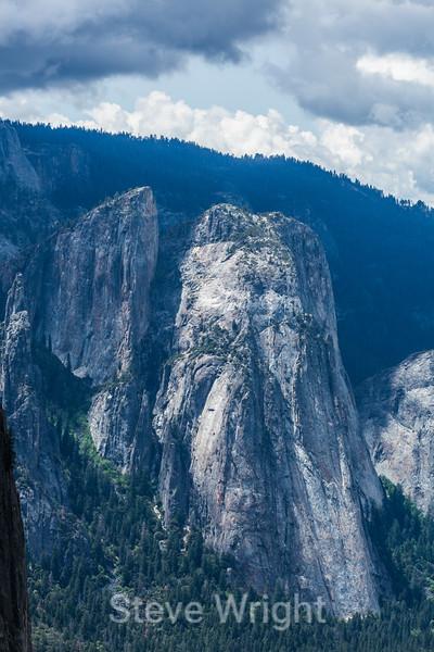 Cathedral Rocks - Yosemite #8637