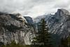North Dome, Basket Dome, Royal Arches, Half Dome - Yosemite #8676