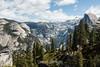 North Dome, Basket Dome, Royal Arches, Half Dome - Yosemite #8464