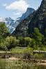 Half Dome and Merced River - Yosemite #9367