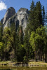 Cathedral Rocks and Merced River - Yosemite #9288
