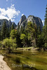 Cathedral Rocks and Merced River - Yosemite #9300