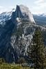 Half Dome and Diving Board - Yosemite #8344