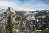 Half Dome, Liberty Cap, Vernal and Nevada Falls - Yosemite #7373