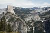 Half Dome, Liberty Cap, Vernal and Nevada Falls - Yosemite #7318