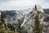 Half Dome and Diving Board - Yosemite #7385