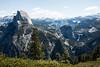 Half Dome, Liberty Cap, Vernal and Nevada Falls - Yosemite #8347